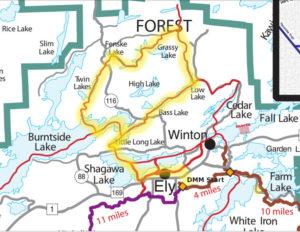 Grassy Loop Trail Map