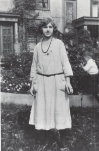 Dorothy as a teenager