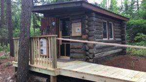 Cady Cabin exterior facelift