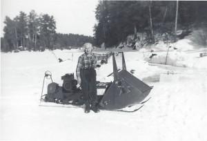 Dorothy's Polaris Sno-Traveler circa 1957