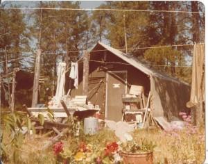 Dorothy's summer tent