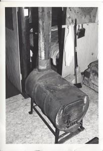 Barrel wood stove